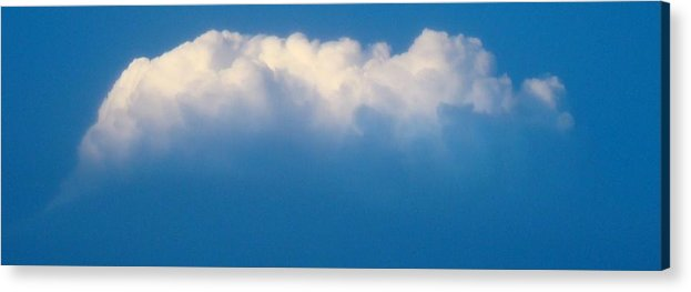 Cloud Acrylic Print featuring the photograph Glowing Cloud One by Ana Villaronga