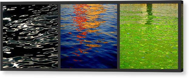 Reflections Acrylic Print featuring the photograph Reflections by Roberto Alamino