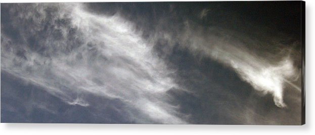 Cloud Acrylic Print featuring the photograph Sky15 by Mikael Gambitt