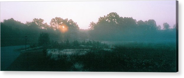 Fields Acrylic Print featuring the photograph Still Mist by Tom Hefko