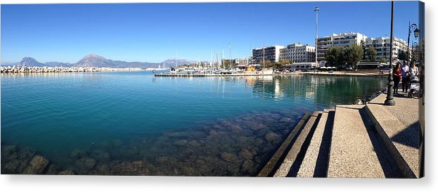 Greece Acrylic Print featuring the photograph 0087030 - Patras by Costas Aggelakis