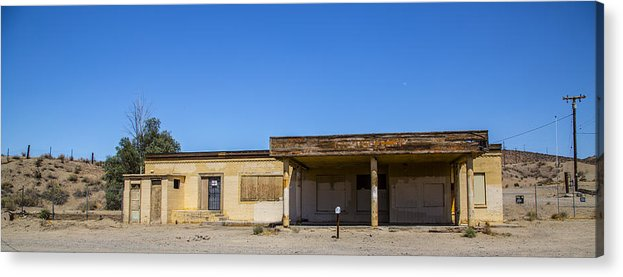 Route 66 Acrylic Print featuring the photograph Station 2 by Angus Hooper Iii