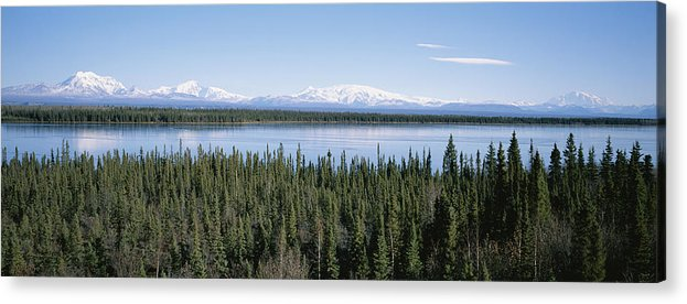 North America Acrylic Print featuring the photograph Mount Drum, Sanford And Wrangell by Rich Reid