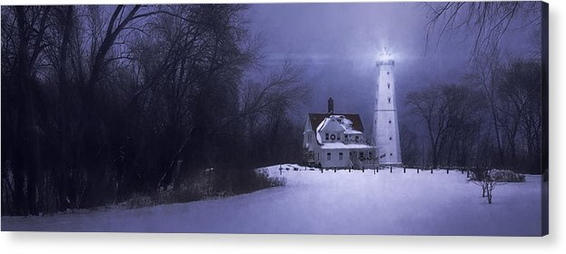 Lighthouse Acrylic Print featuring the photograph Beacon by Scott Norris