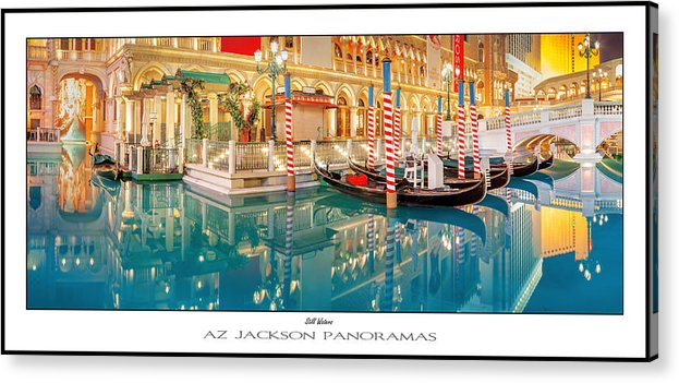 Las Vegas Acrylic Print featuring the photograph Still Waters Poster Print by Az Jackson