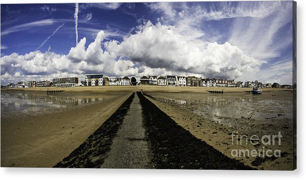 Southend On Sea Acrylic Print featuring the photograph Southend on Sea panorama by Sheila Smart Fine Art Photography
