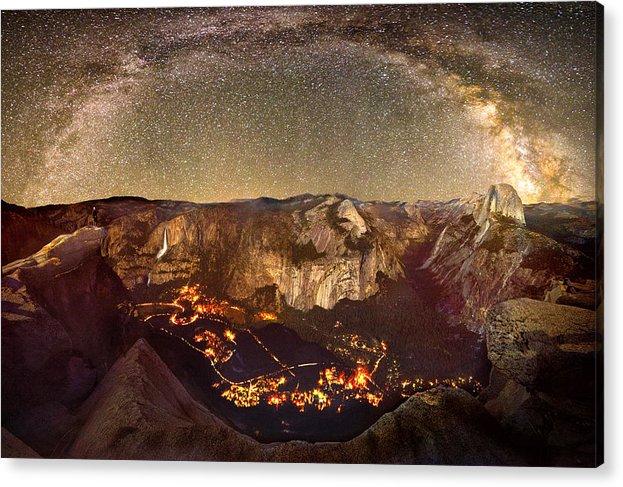 The Milky Way Over Yosemite Valley by Surjanto Suradji