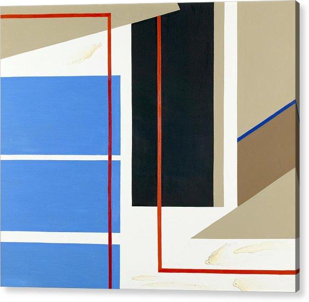 Abstract Acrylic Print featuring the painting Morning Harmony I by Ara Elena