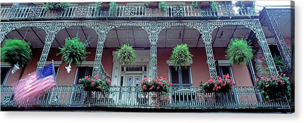 Apartment Acrylic Print featuring the photograph Low Angle View Of A Historic Building by Murat Taner