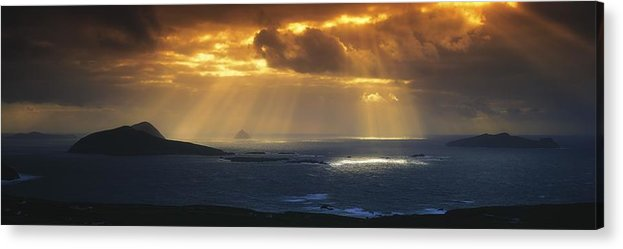 Co Kerry Acrylic Print featuring the photograph Kenmare Bay, Dunkerron Islands, Co by The Irish Image Collection