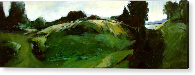 Landscape Acrylic Print featuring the painting Klimt by Dale Witherow