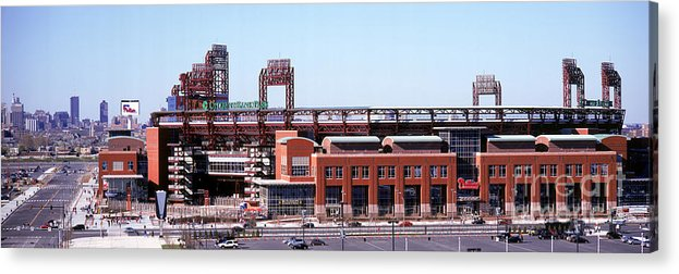 Citizens Bank Park Acrylic Print featuring the photograph Montreal Expos V Philadelphia Phillies by Jerry Driendl