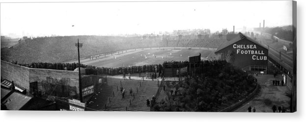 Crowd Acrylic Print featuring the photograph Stamford Bridge by Alfred Hind Robinson