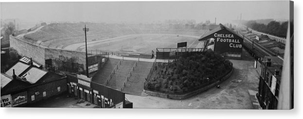 Empty Acrylic Print featuring the photograph Stamford Bridge View by Alfred Hind Robinson
