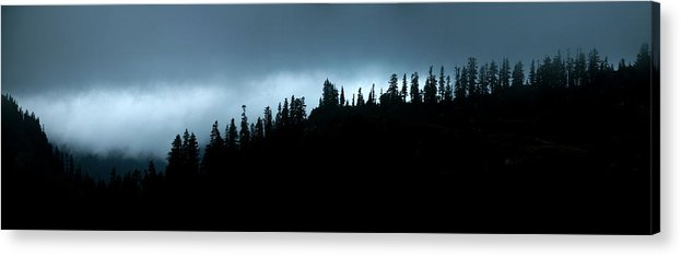 Mount Baker Acrylic Print featuring the photograph Stormy Ridge by Alasdair Turner
