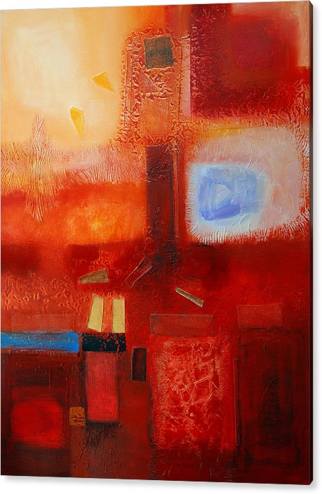 Acrylic Print featuring the painting Life by Farhan Abouassali