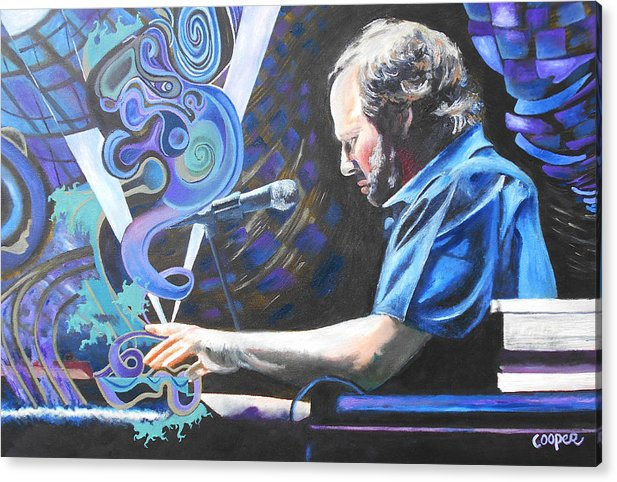 Phish Acrylic Print featuring the painting The Chairman by Kevin J Cooper Artwork