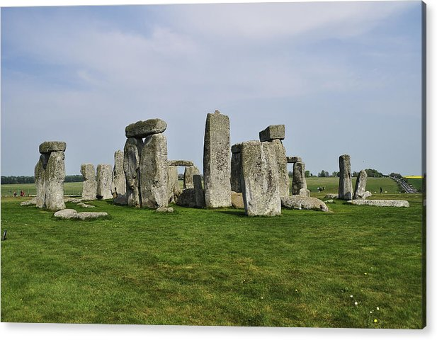 In Summerset Acrylic Print featuring the photograph Stonehenge by Andres LaBrada