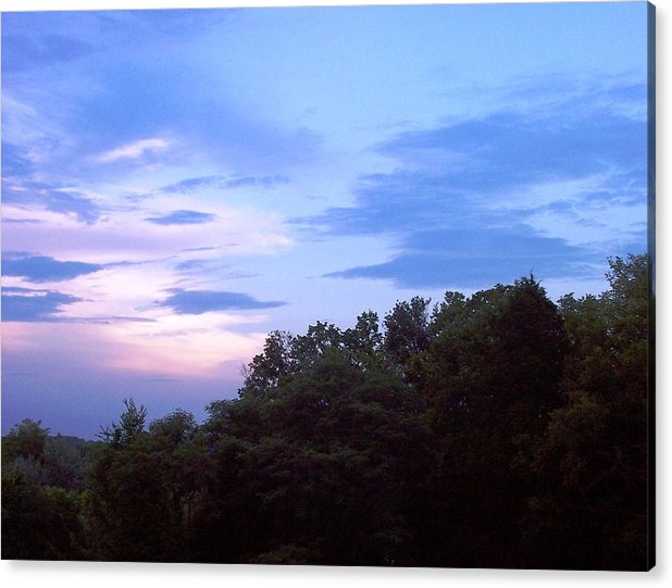 Landscapes Acrylic Print featuring the print Nashville Nights by Beverly Baxter