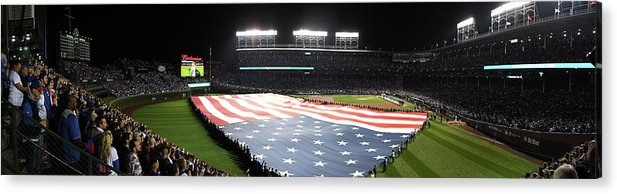 Playoffs Acrylic Print featuring the photograph Mlb Oct 28 World Series - Game 3 - by Icon Sportswire