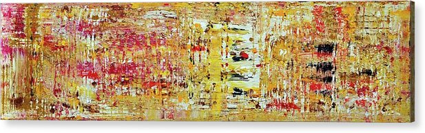 Acrylic Acrylic Print featuring the painting Sunny Side Of Life by Martina Niederhauser