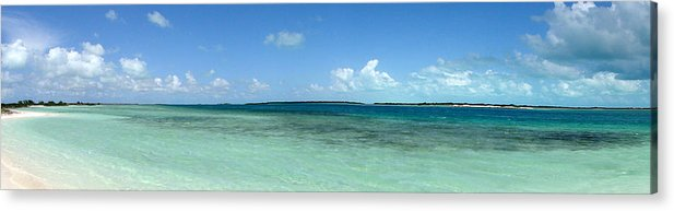 Seascape Acrylic Print featuring the photograph Turks 4 by Allan Rothman
