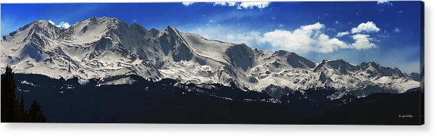 Mt. Massive Acrylic Print featuring the photograph Massive View by Darryl Gallegos