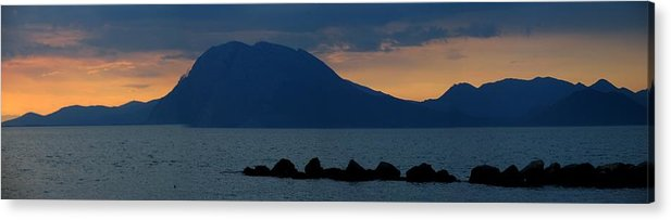 Greece Acrylic Print featuring the photograph 0016229 - Patras by Costas Aggelakis