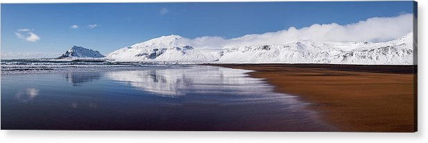 Panorama Acrylic Print featuring the photograph A Perfect Day by Karsten Wrobel