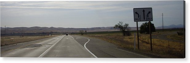 Country Acrylic Print featuring the photograph Which Way by Julie Ringer