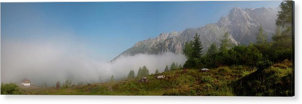 Panorama Acrylic Print featuring the photograph Out Of Nowhere by Uta Philipp