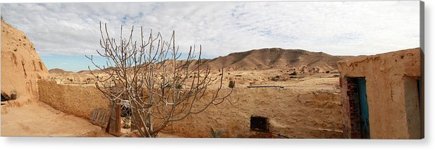 Nature Acrylic Print featuring the photograph Tataouine by Bry Bastien