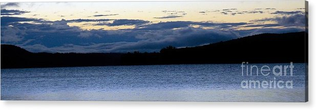 Sunrise Acrylic Print featuring the photograph Cloudy Sunrise by Debra Beaupre