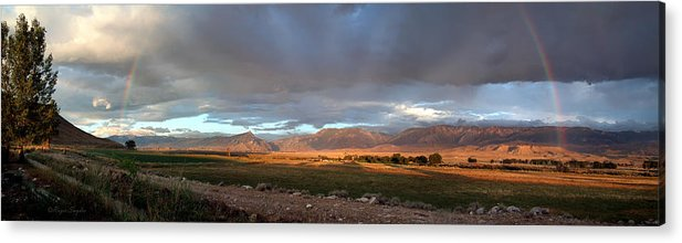 Beautiful Acrylic Print featuring the photograph Clarks Fork Rainbow by Roger Snyder