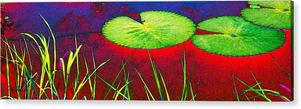 Water Acrylic Print featuring the photograph Red Water by ThiART ThiART