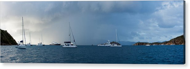 3scape Photos Acrylic Print featuring the photograph Passing Storm by Adam Romanowicz