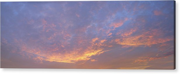 Sunrise Acrylic Print featuring the photograph Sunrise by Bob Bennett