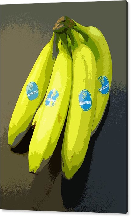 Fruit Acrylic Print featuring the painting Banana Republic by Marcello