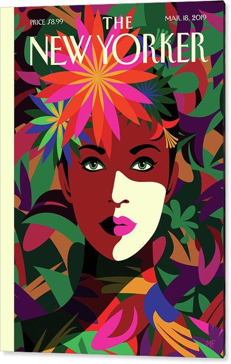 Spring To Mind by Malika Favre
