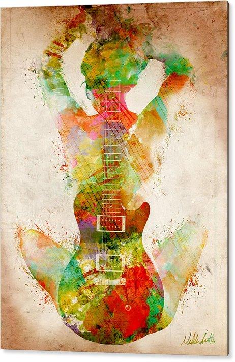 Guitar Siren by Nikki Smith