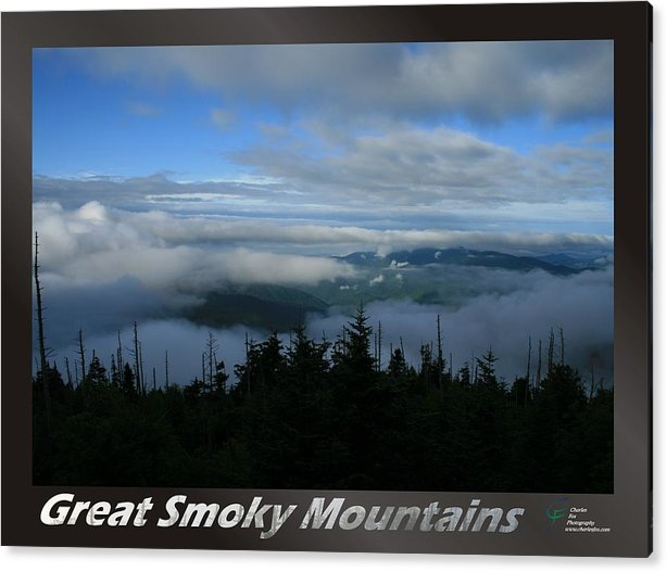 Great Acrylic Print featuring the photograph Great Smoky Mountains National Park 16 by Charles Fox