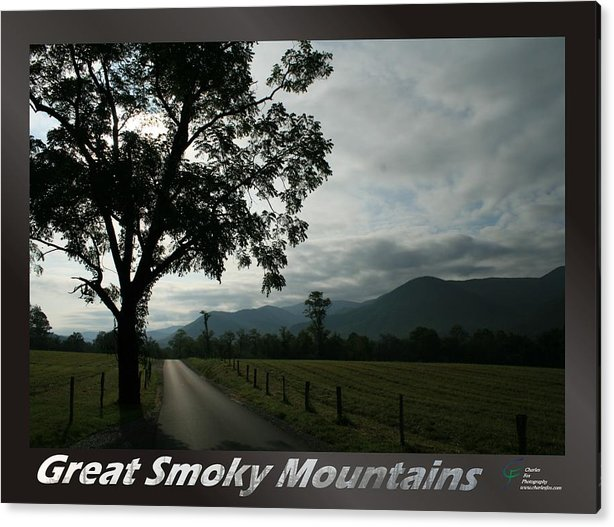 Great Acrylic Print featuring the photograph Great Smoky Mountains National Park 3 by Charles Fox