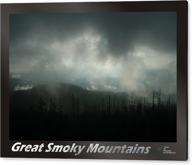 Great Acrylic Print featuring the photograph Great Smoky Mountains National Park 9 by Charles Fox