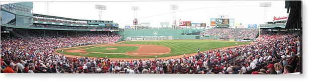 Baseball Acrylic Print featuring the photograph Fenway Pano by Rich Tanguay