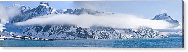 Arctic Acrylic Print featuring the photograph Arctic Panorama by Eva Jo Wu