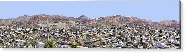 Photography Acrylic Print featuring the photograph Globe Panorama by Sharon Broucek