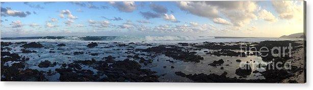 Ocean Acrylic Print featuring the photograph Sandy Beach by Rocky Maes