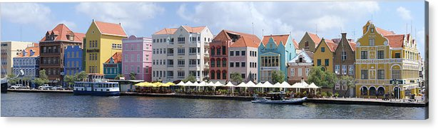 Main Street Acrylic Print featuring the photograph Netherlands Antilles by Heather Coen