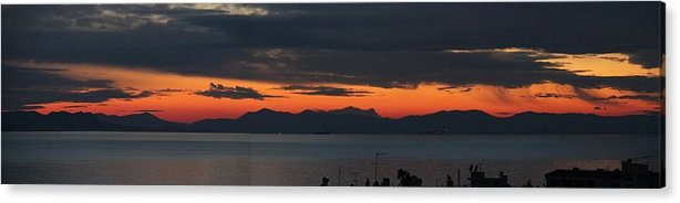 Greece Acrylic Print featuring the photograph 0079423 - Patras by Costas Aggelakis