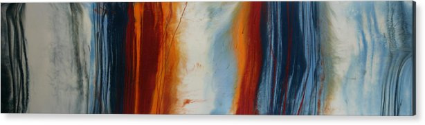 Abstract Acrylic Print featuring the painting Sound Wave by Igor Turovskiy
